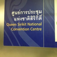 Photo taken at MRT Queen Sirikit National Convention Centre (SIR) by Revadee B. on 6/24/2012
