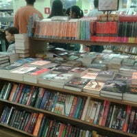 Photo taken at Saraiva MegaStore by Priscila C. on 7/14/2012