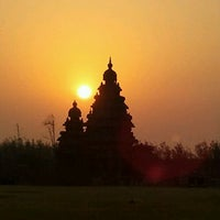 Photo taken at Shore Temple by Shankar S. on 3/25/2012