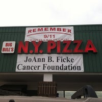 Photo taken at Big Bill's NY Pizza by Ross K. on 9/11/2012
