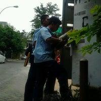 Photo taken at Perumahan Puri Grisenda by Akbar Adhitya H. on 5/15/2012