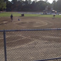 Photo taken at Mount Pleasant Little League by Heather B. on 7/2/2012