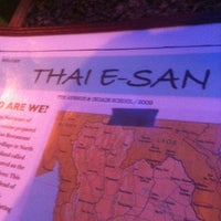 Photo taken at Thai E-San by Pepe C. on 6/22/2012