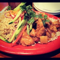 Photo taken at Pei Wei Asian Diner by Kamarin J. on 4/17/2012