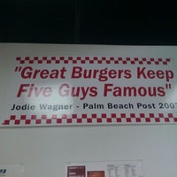 Photo taken at Five Guys by Tony B. on 2/10/2012