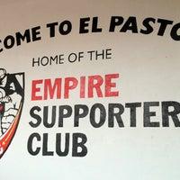 Photo taken at El Pastor Restaurant by Matt F. on 4/28/2012