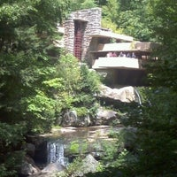 Photo taken at Fallingwater by Cindy C. on 8/26/2012