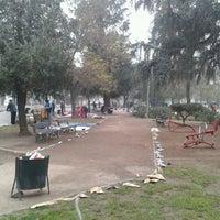 Photo taken at Parque Portales by Leonardo M. on 6/10/2012