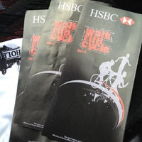Photo taken at HSBC Tutong by Krel M. on 4/6/2012