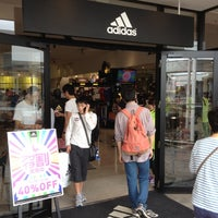 Photo taken at adidas FACTORY OUTLET by Akifumi K. on 7/8/2012