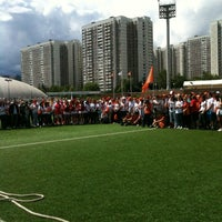 Photo taken at Стадион «Янтарь» by Алеся on 6/29/2012