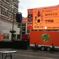 Photo taken at Jansplaats by TMS Productions Creating Events & SKYFLY.nl driveinshow R. on 6/13/2012