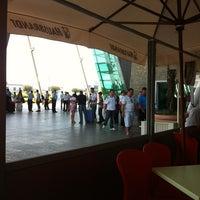 Photo taken at Tirana International Airport Nënë Tereza (TIA) by Tolga on 8/20/2012