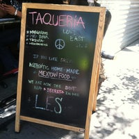 Photo taken at Taqueria Lower East Side by Melissa S. on 5/18/2012