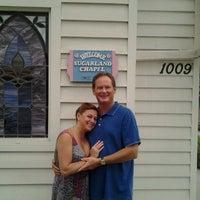 Photo taken at Sugarland Wedding Chapel by Gina Gigi B. on 6/17/2012