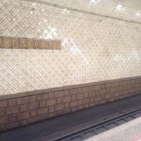 Photo taken at Metro Kiyevskaya, line 4 by Ekaterina S. on 6/5/2012