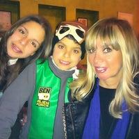 Photo taken at La Azteca Churros & Café by America S. on 2/12/2012