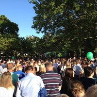 Photo taken at Almedalen by Peter A. on 7/2/2012