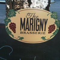 Photo taken at Marigny Brasserie by Patrice C. on 7/1/2012