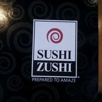 Photo taken at Sushi Zushi by Jeff R. on 2/9/2012