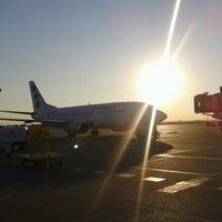 Photo taken at Belgrade Nikola Tesla Airport (BEG) by Dejan Š. on 9/3/2012