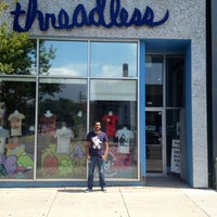 Photo taken at Threadless Store by Miguel V. on 8/16/2012