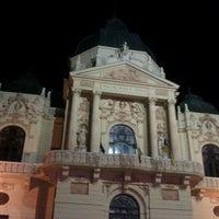 Photo taken at Színház tér by Róbert M. on 8/14/2012