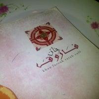 Photo taken at Khan Farouk Tarab Cafe by Amal H. on 8/19/2012