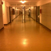 Photo taken at John Oliver Secondary by Mark O. on 5/9/2012