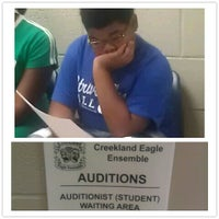Photo taken at Creekland Middle School by Brandi S. on 8/25/2012