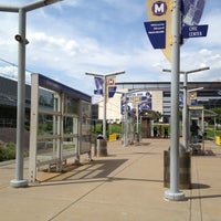 Photo taken at MetroLink - Civic Center Station by Steve P. on 5/12/2012