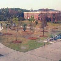 Photo taken at University of North Carolina Wilmington by Hunter W. on 3/19/2012