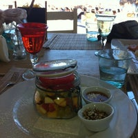 Photo taken at Sea Side by Notos by Marina M. on 8/30/2012