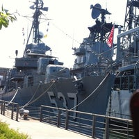 Photo taken at Buffalo & Erie County Naval & Military Park by Chris G. on 5/24/2012