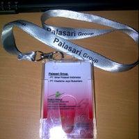 Photo taken at PT. Sinar Palasari Indonesia by Isma Z. on 4/20/2012