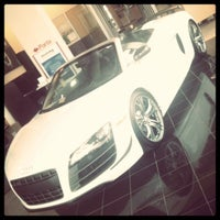 Photo taken at Audi of Alexandria by Shawn D. on 8/20/2012