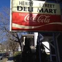 Photo taken at Henry Street Deli Mart by Gahlord D. on 4/6/2012