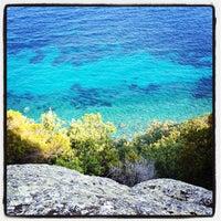 Photo taken at Spiaggia del Cotoncello by Alessandra F. on 9/6/2012