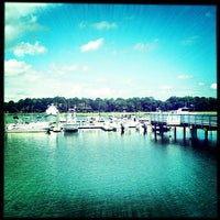Photo taken at Salty Dog Cafe-Waterside Deck by Andrew N. on 9/9/2012