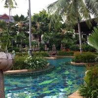 Photo taken at Anantara Bophut  Resort And Spa by Katerina L. on 5/7/2012