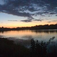 Photo taken at Озеро Сювеярви (Хиттоловское) by Анастасия on 7/31/2012