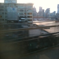 Photo taken at MTA Subway - Manhattan Bridge (B/D/N/Q) by Hope Anne N. on 4/15/2012