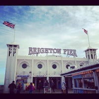 Photo taken at Brighton Palace Pier by Ashlyn B. on 6/24/2012
