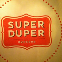 Photo taken at Super Duper Burger by Mike T. on 2/25/2012