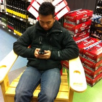 Photo taken at Liquor Mart by Eman A. on 2/11/2012