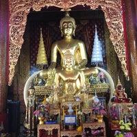 Photo taken at Wat Chai Mongkol by Pimpatiparn S. on 4/15/2012