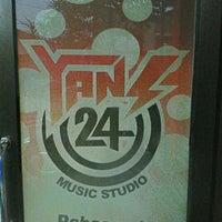 Photo taken at YANS 24 Music Studio by Adry C. on 7/29/2012