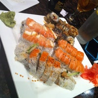 Photo taken at Sushi Love by Alexandra G. on 5/14/2012