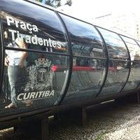 Photo taken at Estação Tubo Praça Tiradentes (Ligeirinho - Linhas 304/307/607) by Nehi O. on 3/23/2012