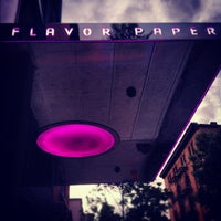 Photo taken at Flavor Paper by Nick J. on 6/14/2012